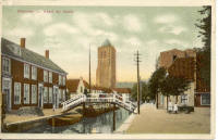 Vaart en toren Monster in 1910